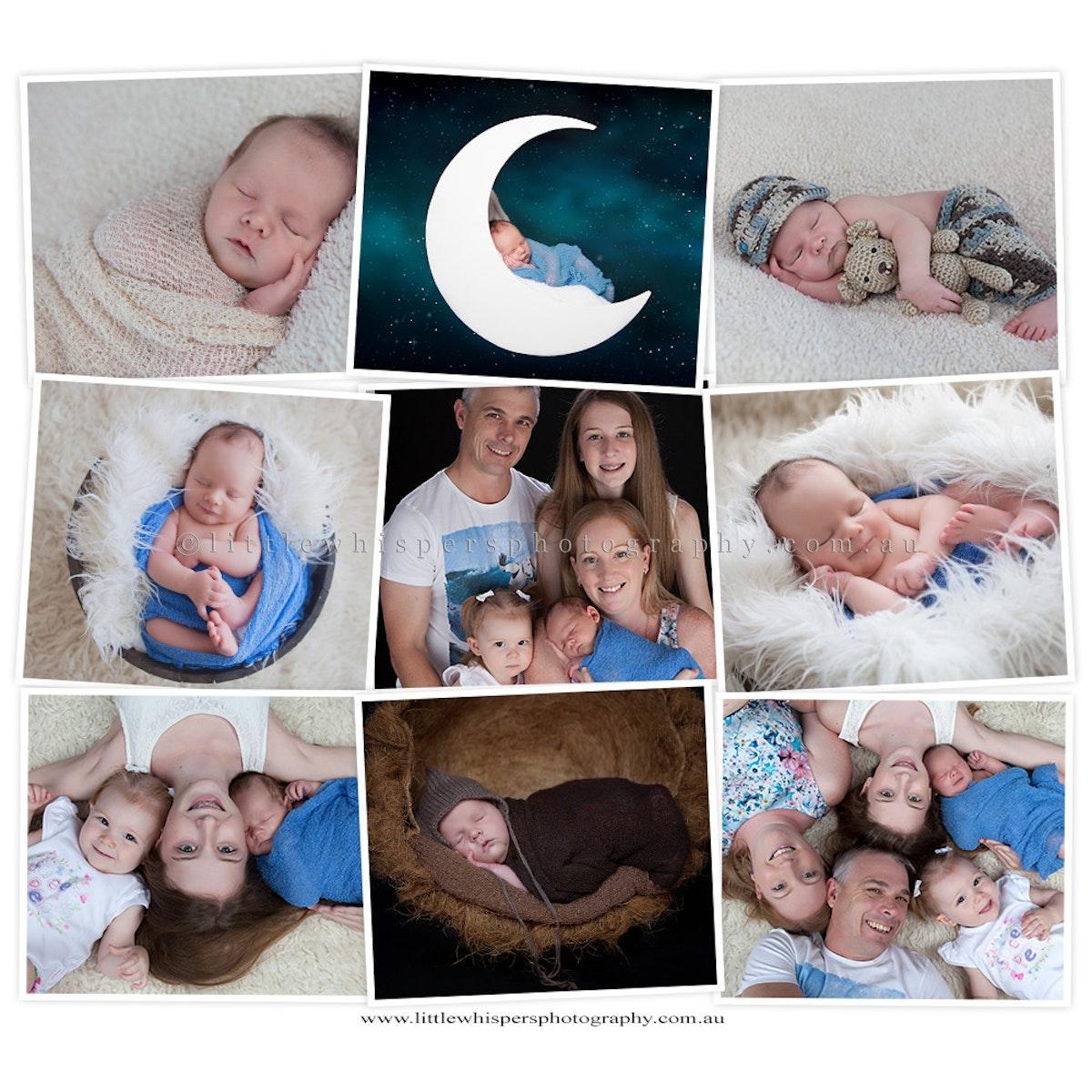 Central Coast Newborn Photography