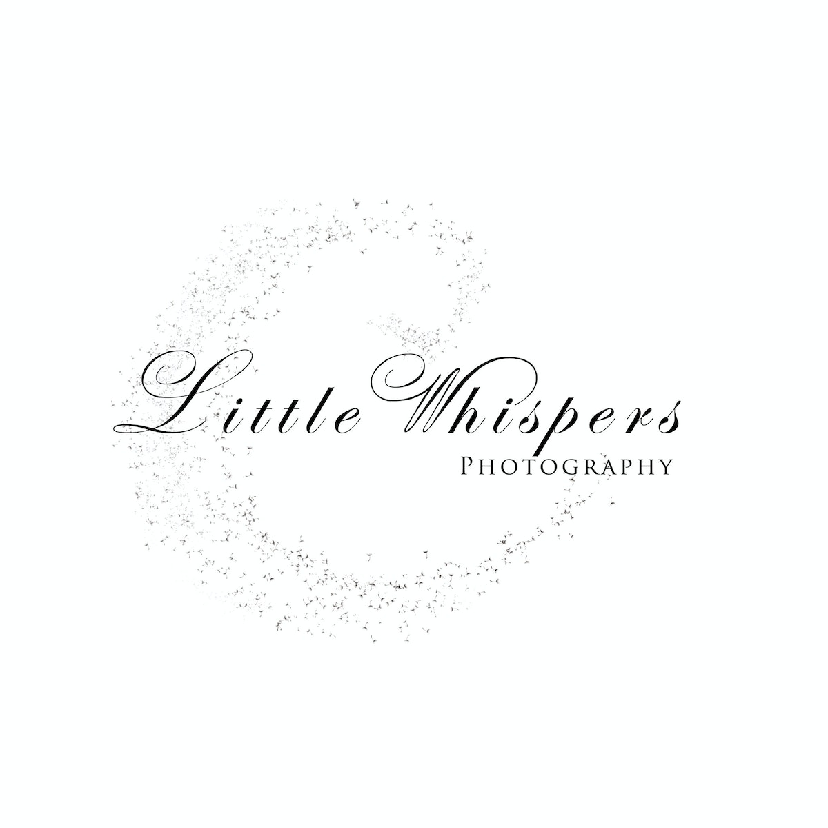 2017 little whispers logo Black