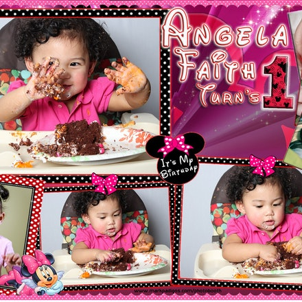 Angela Faith 1st bday