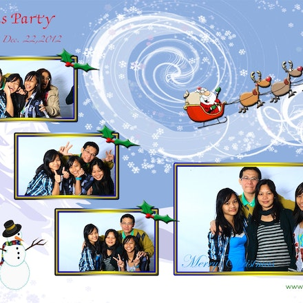 Demano's Christmas party 2012