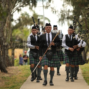 Bundaberg Pipe Band - Images From Pipe Band Events