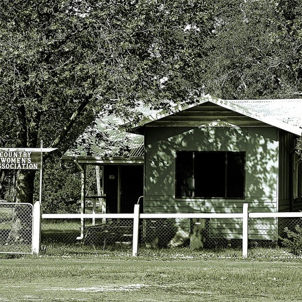 CWA Dwellingup - Country Womens Association building at Dwellingup, Western Australia.