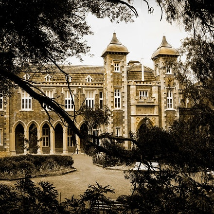 Government House - The residence of the Western Australia Govenor. Perth.