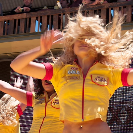 Aussie Dancers - The XXXX Gold beer dancers.