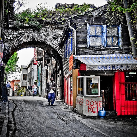 Istanbul_back_street - OLYMPUS DIGITAL CAMERA