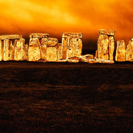 Golden_Stonehenge - OLYMPUS DIGITAL CAMERA