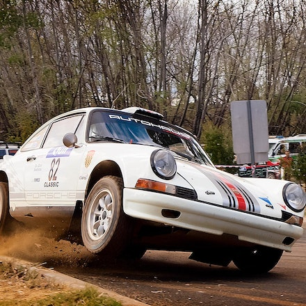 Porche Classic - At Nannup Special Stage, Quit Forest Rally, Western Australia.