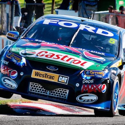 Mark Winterbottom - Ford Performance Racing at Barbagellos, Raceway Western Australia.