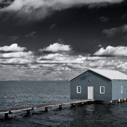 The Boat Shed - Swan River Perth Western Australia.