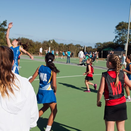 Butler Netball 2014 - One game at Joondalup Arena in July 2014
