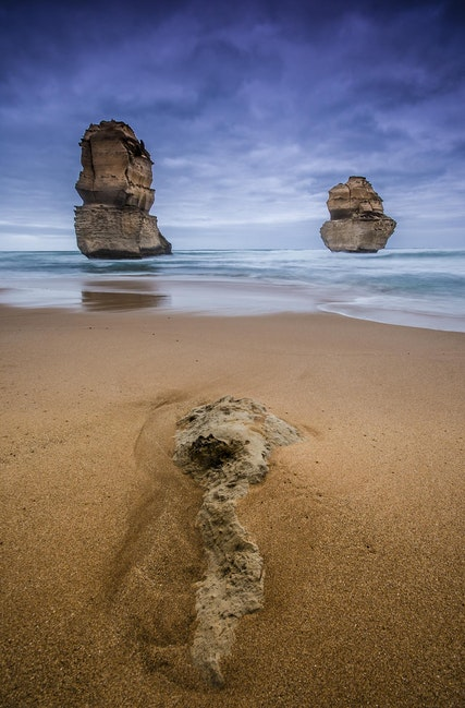 Rock Stars - 12 Apostles, (or part thereof) Great Ocean Road, Victoria. Gibsons Steps.