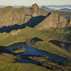Lakes and Tarns - Images from Tasmanian mountains and their nearby lakes and tarns.