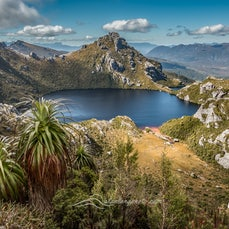 Western Arthur Range, Tasmania, Dec 2015 - Hiking in the West Arthur Range in Tasmania, taking in Lake Cygnus and Lake Oberon. Tasmanian wilderness photography...