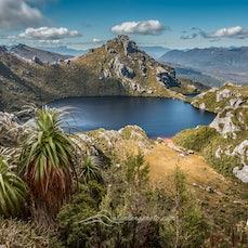 Western Arthur Range, Tasmania, Dec 2015 - Hiking in the West Arthur Range in Tasmania, taking in Lake Cygnus and Lake Oberon. Tasmanian wilderness photography...
