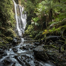 Rivers and Waterfalls - Rivers, creeks, and Tasmanian waterfalls