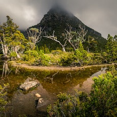 Lake Rodway via Twisted Lakes - A hike out behind Tasmanias iconic Cradle Mountain. 3 days, Lake Rodway via Hansons Peak and Twisted Lakes.