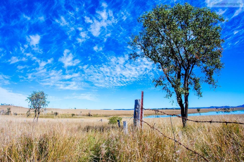 Lake Wivenhoe, QLD - Taken along the Wivenhoe-Somerset Road.