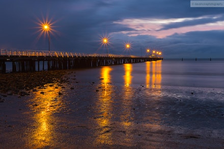 Shorncliffe Pier, QLD - It was raining about 10 minutes before I took this shot. A lovely spot which I would like to visit again.