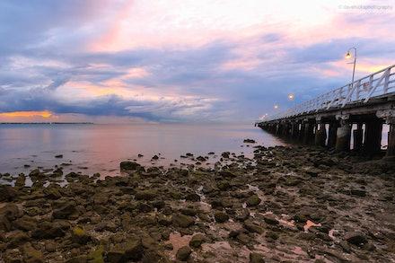 Shorncliffe Pier 2, QLD - Taken just after sunrise.