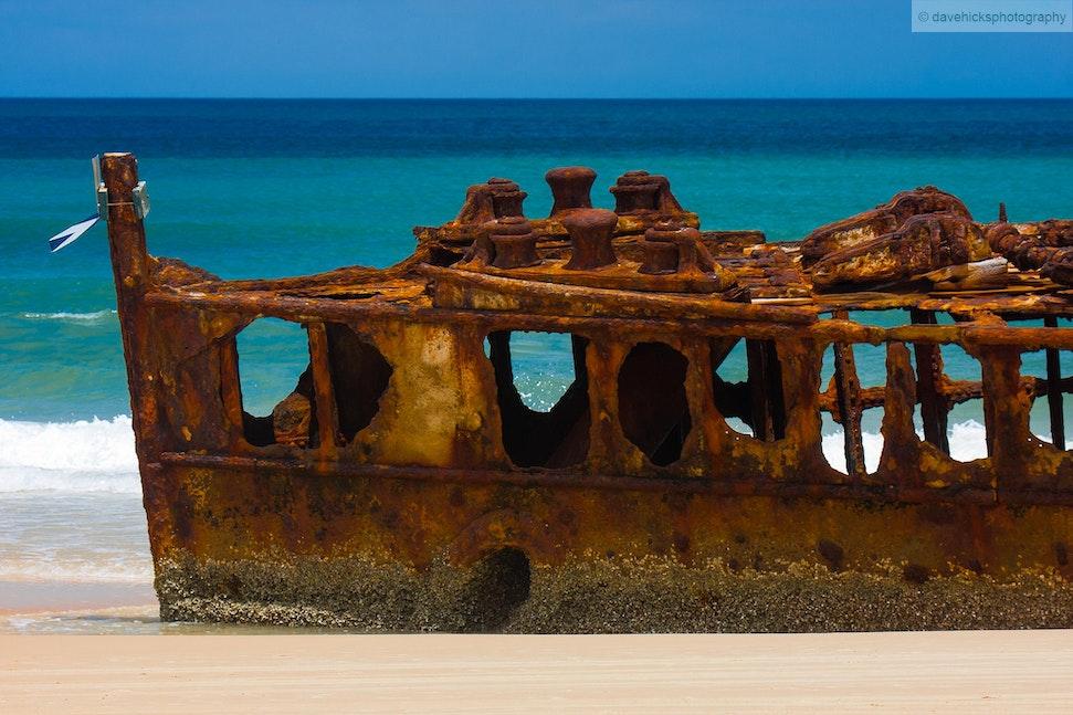 The Maheno, Fraser Island, QLD