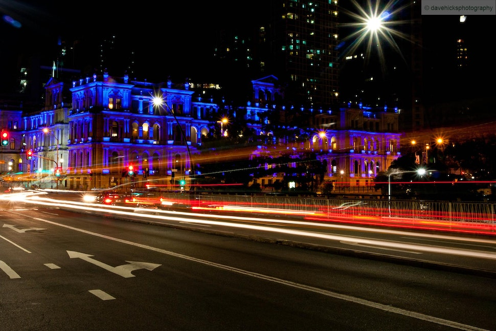 Southbank, Brisbane, QLD - In April 2013 I decided to go out to Southbank and surrounds and give night photography a go.
