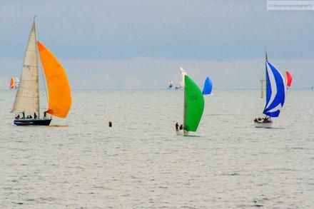 Sailing on Port Phillip Bay, VIC