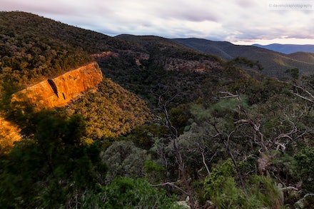 Sunset from Red Rock Gorge, Sundown National Park