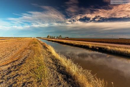 Irrigation canal near St. George, QLD 01