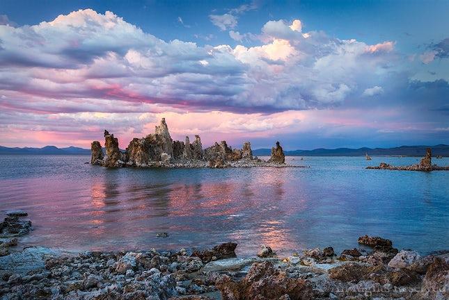 Mono Lake, Tufa Towers, Sunset