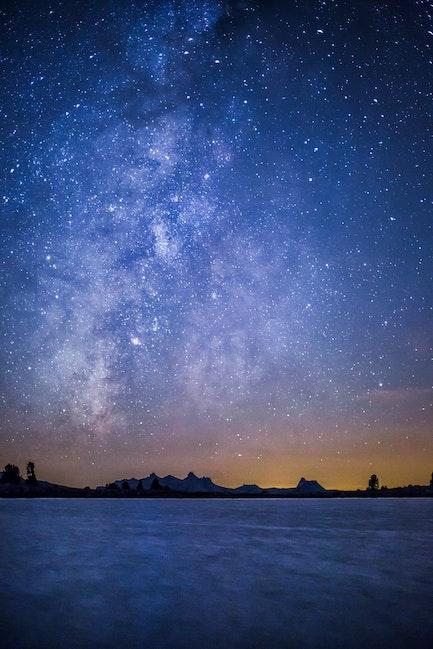 Milky Way, Cathedral Range