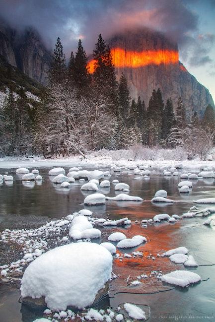 El Capitan, Winter's Fire