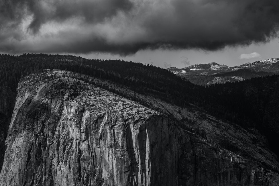 El Capitan, Light and Stone
