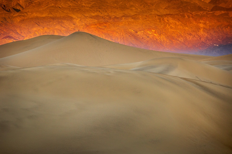 Lone Photographer, Death Valley