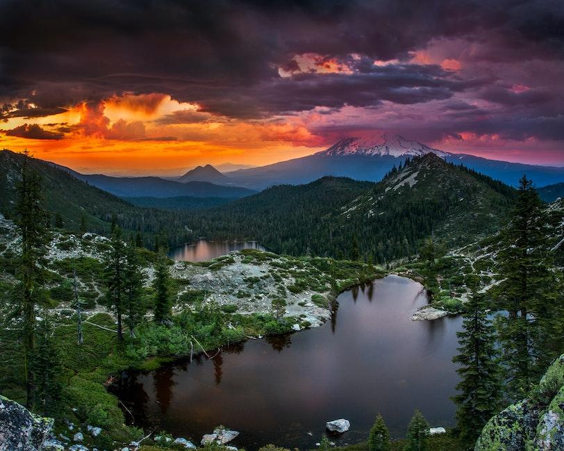 Among the Elements, Heart Lake, Shasta