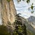 Upper Yosemite Falls and Half Dome, Spring Growth