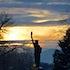 010814 Lady Liberty sunset