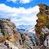 Longs Peak at Rock Cut