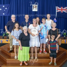 2015 Australia Day citizenship ceremony - Images from the 2015 Australia Day citizenship ceremony.