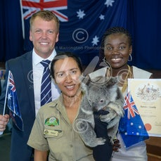 2016 Australia Day Citizenship Ceremony - Images from the Australia Day citizenship ceremony