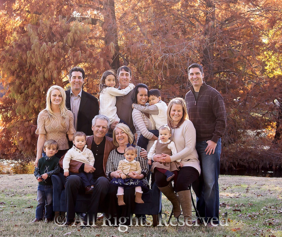 {Family Portraits} click image to enter gallery