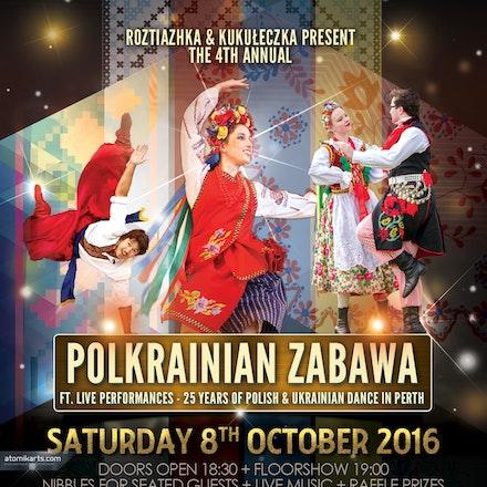 4th Annual Polkrainian Zabawa 2016, Cracovia Club - Kukuleczka & Roztiazhka present the 4th Annual Polkrainian Zabawa 2016, 8 October 2016 at Cracovia...