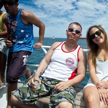Amon Vision Boat Party, Garden Island, 19 December 2010 - Garden Island
