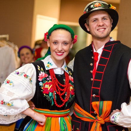 Polart Dance 2012, Cracovia Club, 22 September 2012 - PolArt Dance took place at the Cracovia Club to showcase traditional Polish dances & costume with...