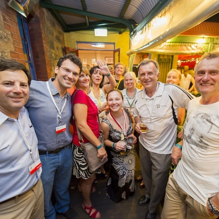 PolArt Welcome Function, Left Bank Fremantle, 27 December 2012