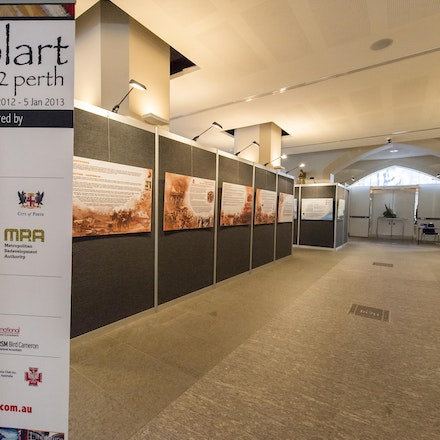 PolArt Perth: Polish Stars Under the Southern Cross Exhibition, Perth Town Hall, 29 December 2012 - 11 January 2013 - The exhibition Polish Stars Under...