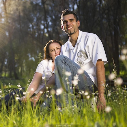 Tanya and Simon Portrait Shoot @ Mindarie & Walyunga NP, 11 Sept - Atomik Arts Family Portrait Shoots