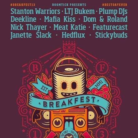 Breakfest 2013, Belvoir Amphitheatre, 26 December 2013 - Always at Belvoir. Always affordable. Always keepin' it 100.