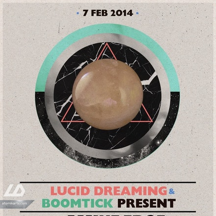 Lucid Dreaming & Boomtick pres. Amine Edge & Dance, Parker Nightclub, 7 February 2014 - G HOUSE. (GANGSTER HOUSE) a fusion of Hip Hop and House music that...