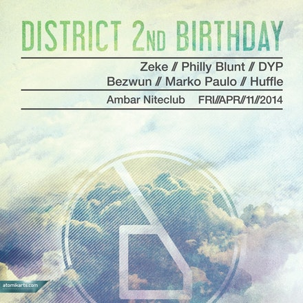 DISTRICT 2nd Birthday, Ambar - This time two years ago the Friday platform of District was born, and since its inception we have watched on proudly as...