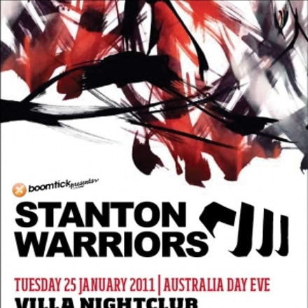 Boomtick presents Stanton Warriors, Villa, 25 January 2011 - What better way to celebrate Australia Day than with the country's favourite DJ-duellers,...